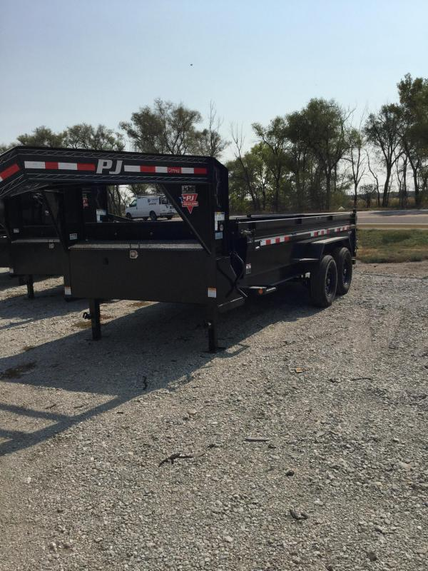 2021 PJ Trailers 83 in Low Pro Dump DL Dump Trailer