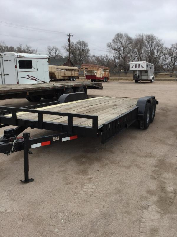 2009 Temco MFG flatbed Flatbed Trailer