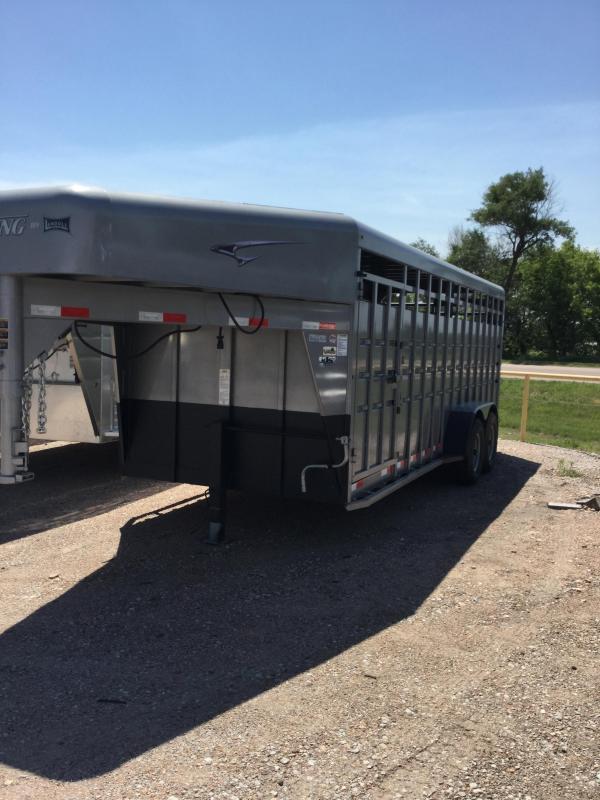 2020 Travalong Standard Gooseneck Stock Trailer Livestock Trailer