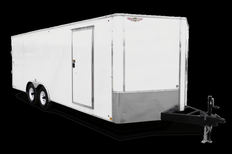2020 H and H Trailer H9620TRTV-140 Enclosed Cargo Trailer