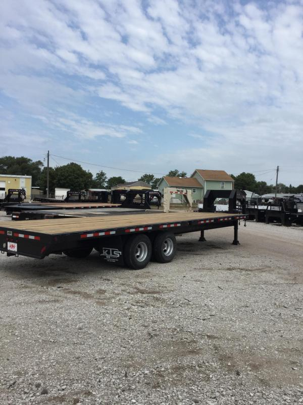 1999 D and K Trailers flatbed Flatbed Trailer