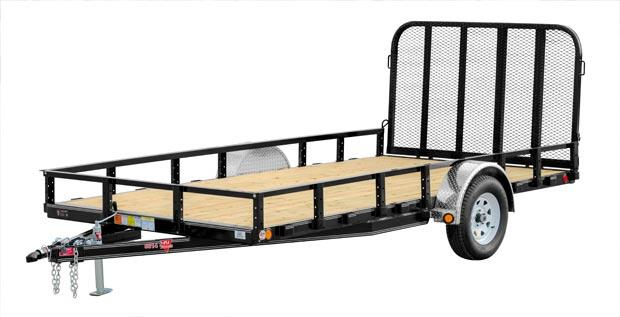 2021 PJ Trailers 83 in. Single Axle Channel Utility (U8) Utility Trailer