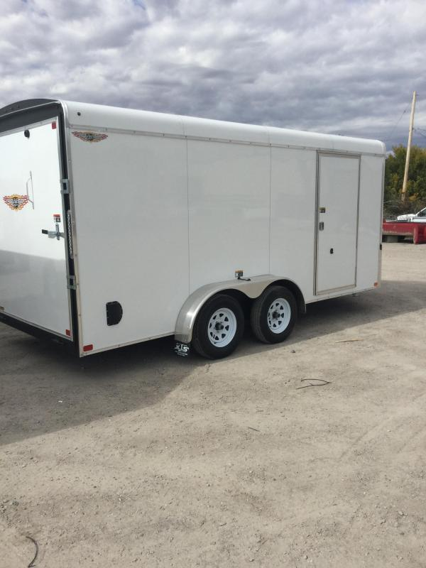 2021 H and H Trailer 7x16  (H8416TRTV-070) Car / Racing Trailer