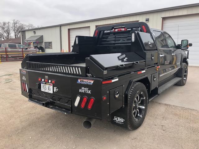 2019 Besler Industries 10 Box Skirted Steel Flatbed