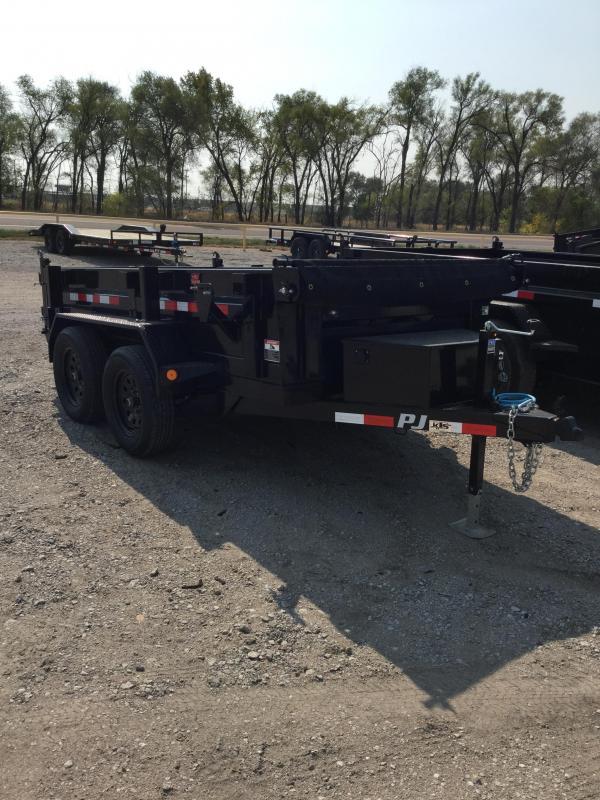 2021 PJ Trailers 60 in Utility Dump D5 Dump Trailer