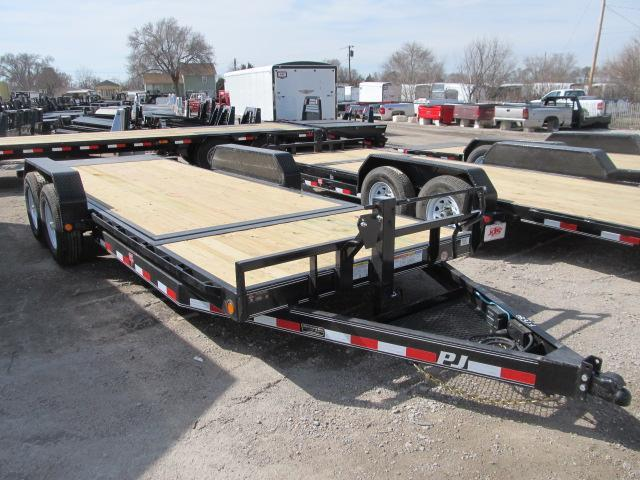 "2020 PJ Trailers 82"" x 20 Tilt Deck Car Hauler"
