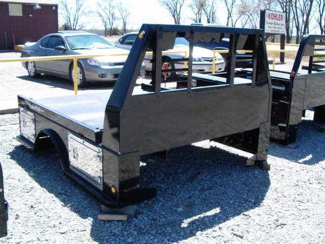 2019 Bradford Built Steel Truck Bed