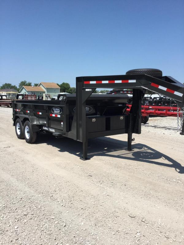 2021 Global Equipment Co. Dump Dump Trailer