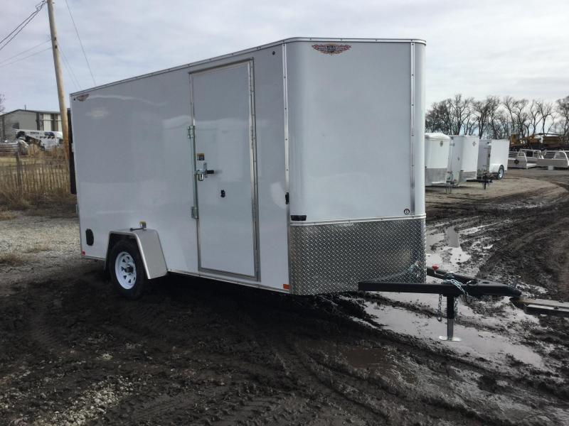 2020 H and H Trailer H721SFTV-035 Enclosed Cargo Trailer