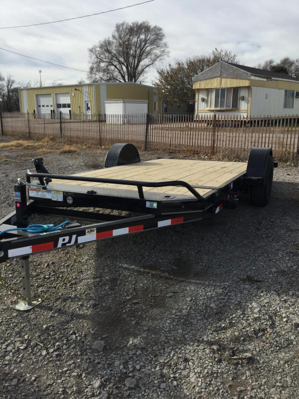 2021 PJ Trailers Single Axle HD Tilt (T1) Utility Trailer
