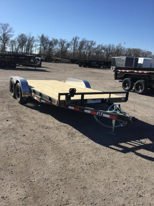 2021 PJ Trailers 5 in. Channel Carhauler (C5) Car / Racing Trailer