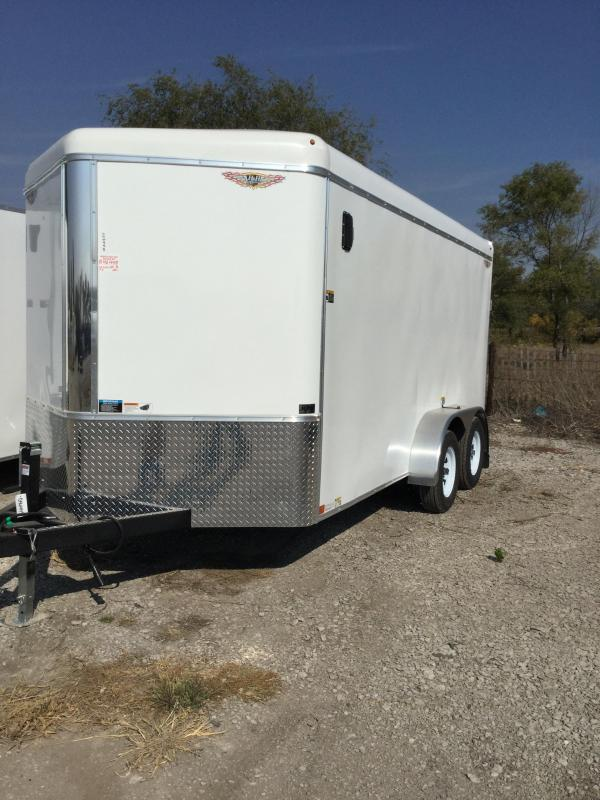 2021 H and H Trailer H8414TRT-070 Enclosed Cargo Trailer