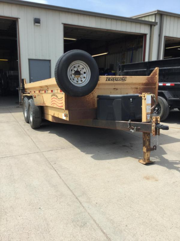 2007 Travalong Dump Trailer Dump Trailer