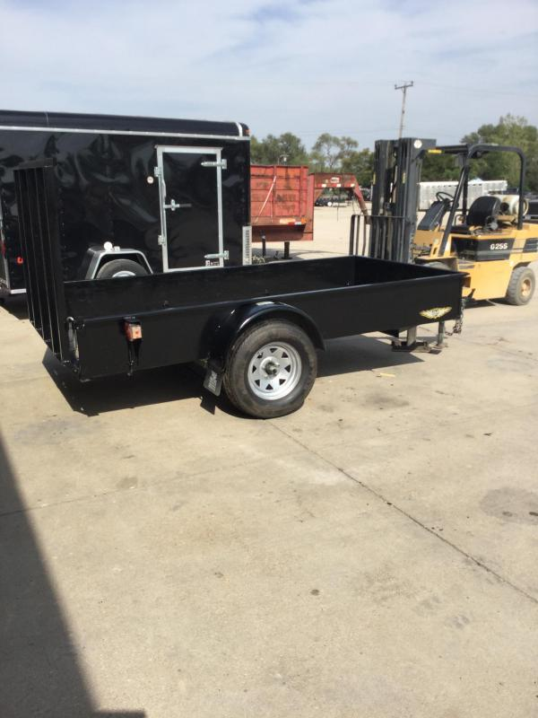 1997 H and H Trailer 5x10 utility Utility Trailer
