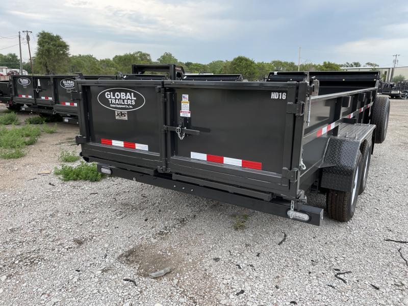 2022 Global Equipment Co. GDTHD14 Dump Trailer