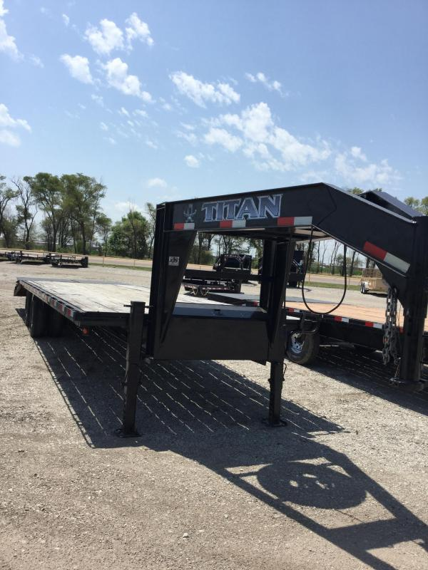 2012 Titan Trailers Flatbed Flatbed Trailer