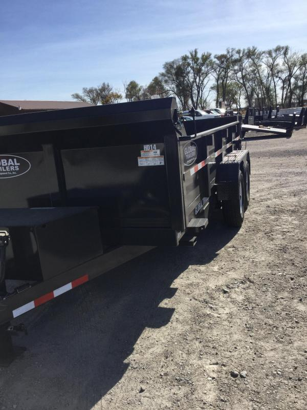 2021 Global Equipment Co. GDTHD14 Dump Trailer