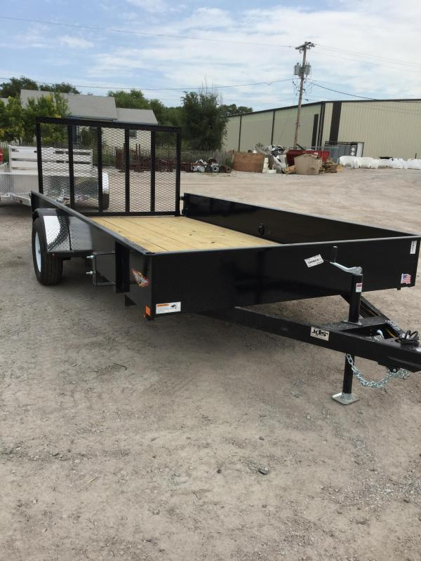2020 H & H Trailers H8212SS Utility Trailer