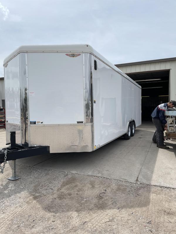 2017 H&H Trailers 8.5x24 cargo Enclosed Cargo Trailer