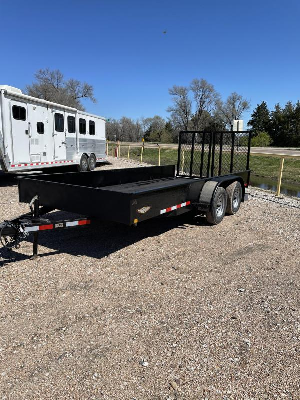 2013 H&H Trailers Tandem axle utility Utility Trailer