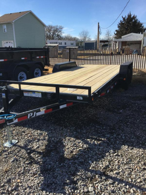 2021 PJ Trailers 5 in. Channel Equipment (CE) Flatbed Trailer