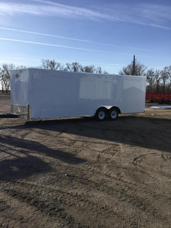 2021 Carry-On 8.5X24CGRBN10K Enclosed Cargo Trailer