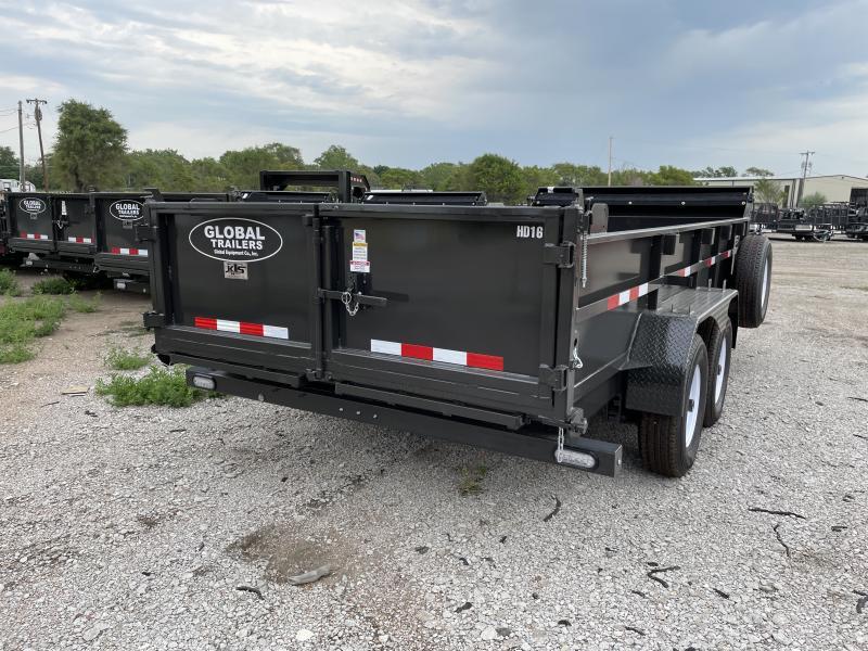 2022 Global Equipment Co. GDTHD16 Dump Trailer