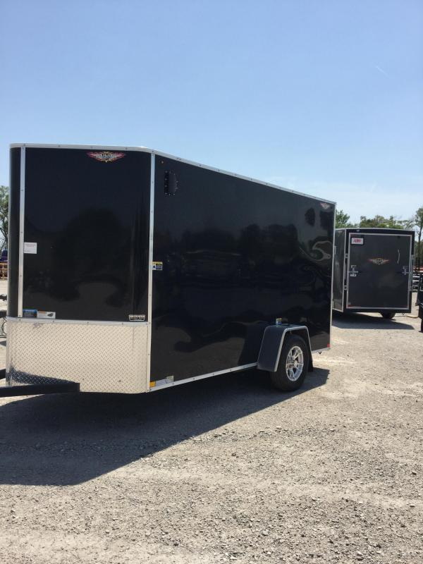 2019 H and H Trailer 6x12CGR Enclosed Cargo Trailer