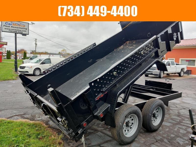 2021 Force 6X12 DUAL RAM 9800GVW DUMP TRAILER Dump Trailer