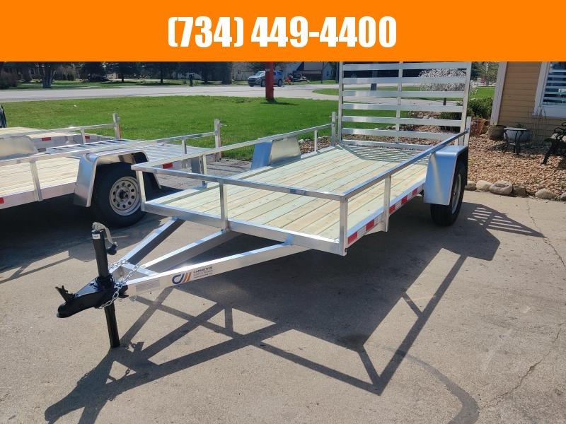 2021 Mid America 6X12 Aluminum Utility Trailer