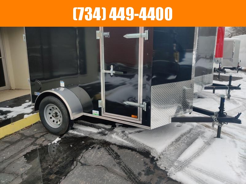 2021 Continental Cargo 5 x 8 Enclosed Cargo Trailer