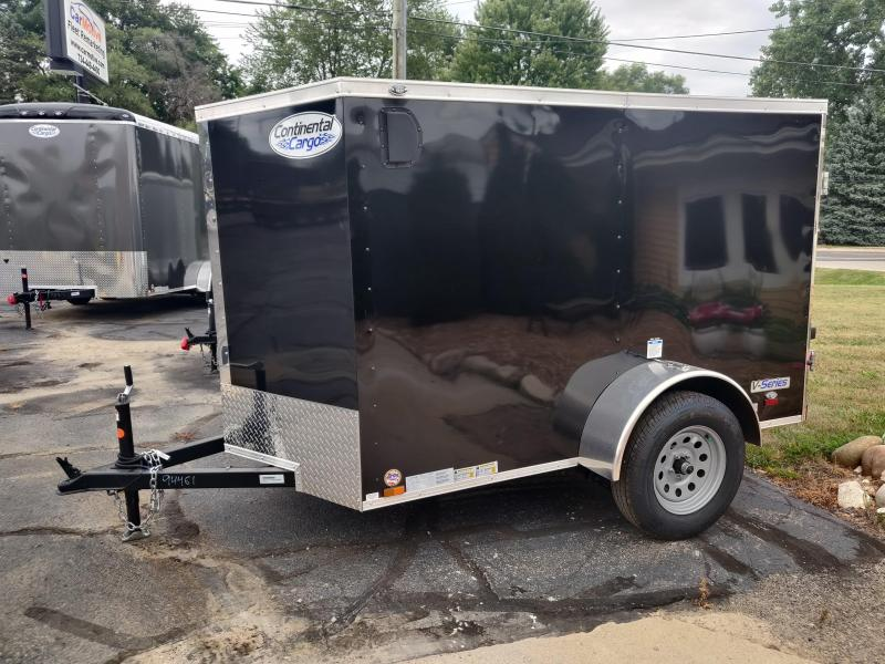 2021 Continental Cargo 5x8 Enclosed Cargo Trailer