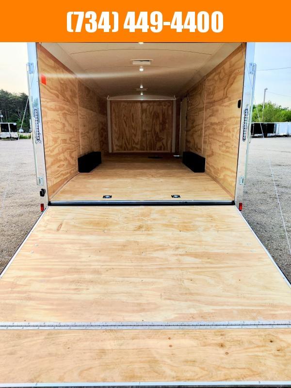 2022 Continental Cargo Auto Plus 8.5 x 24ft Enclosed Car / Toy hauler