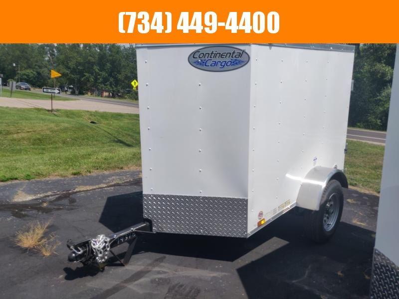 2021 Continental Cargo 4x6 Enclosed Cargo Trailer Enclosed Cargo Trailer