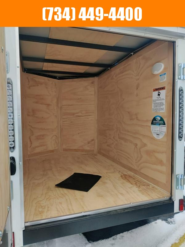 2021 Continental Cargo 4x6 Enclosed Cargo Trailer