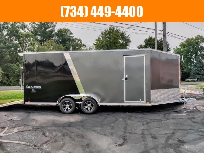 2022 Look Trailers 7x23 Avalanche Deluxe Aluminum Snowmobile ATV trailer