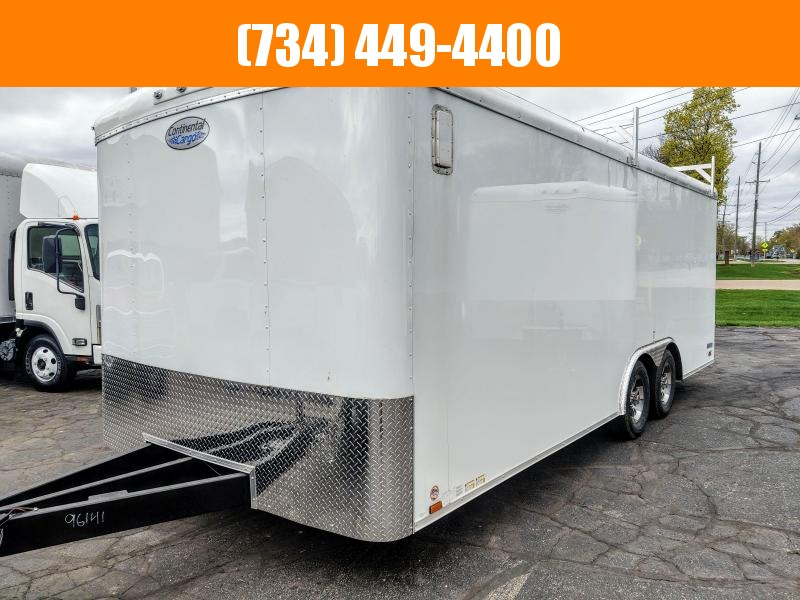 "2022 Continental Cargo 8.5 x 20 x 84"" Tall Contractors Trailer Enclosed Cargo Trailer"