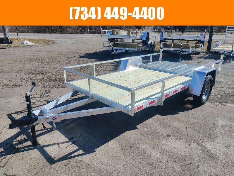 2021 Mid America 6X12SA Aluminum Utility Trailer