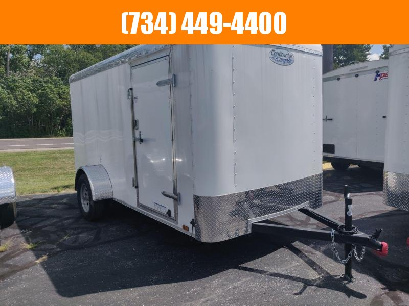 2021 Continental Cargo Tailwind 6x12 Single Axle Enclosed Cargo Trailer Enclosed Cargo Trailer