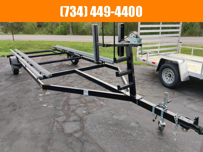 2021 General Coach 20Ft Single Axle Bunk Float On Pontoon Utility Trailer