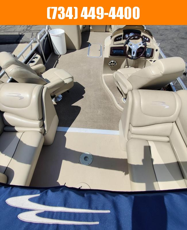 2013 Bennington 2500 Series 25Ft Tritoon w 250HP Yamaha Pontoon Boat