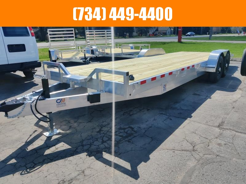 2022 Mid America 22+2 Aluminum Equipment Trailer Equipment Trailer