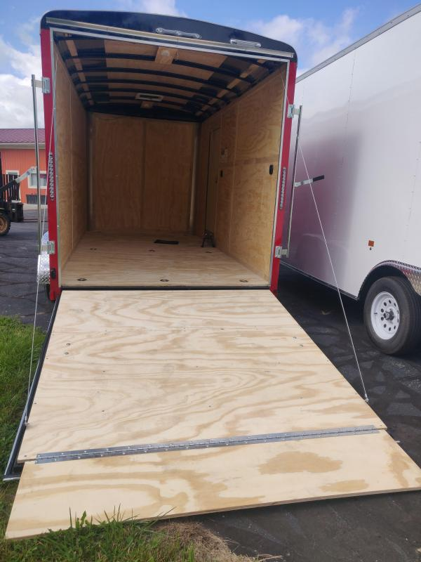 2021 Continental Cargo Tailwind 7 x 14 x 7 Side by Side Toy Hauler Enclosed Cargo Trailer