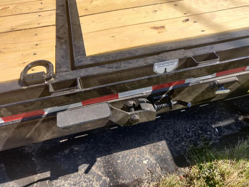 2021 PJ Trailers 14TL Tilt Deck Equipment Trailer