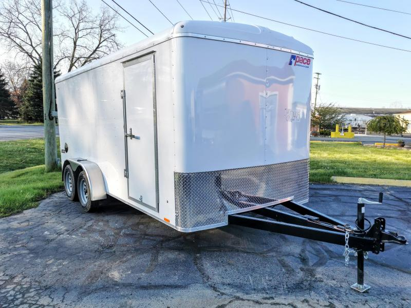 2021 Pace American Outback 7 x 12 Landscape Package Cargo Trailer Enclosed Cargo Trailer