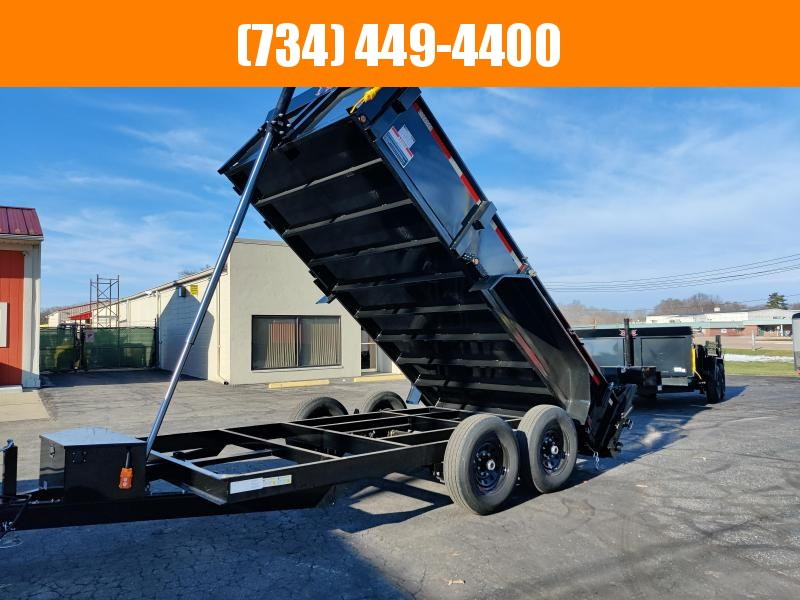 "2021 Forest River Force 83"" x 14ft Dump Trailer"