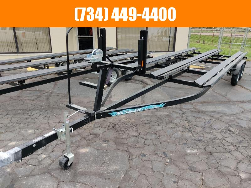 2022 Paul 24Ft Float On Bunk Style Tri toon Pontoon Trailer Utility Trailer