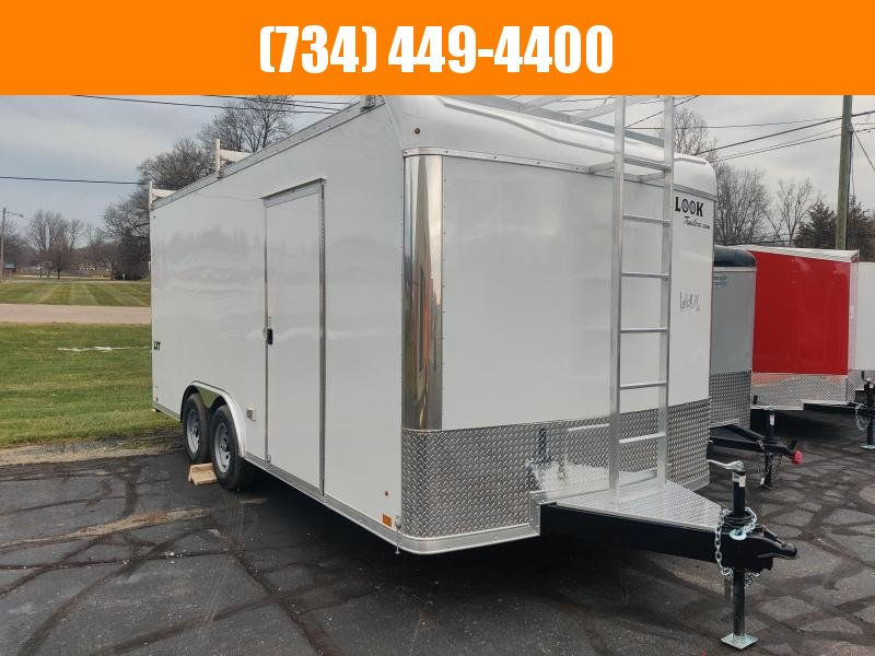 2021 Look Trailers LXT85X18TE3 Enclosed Cargo Trailer