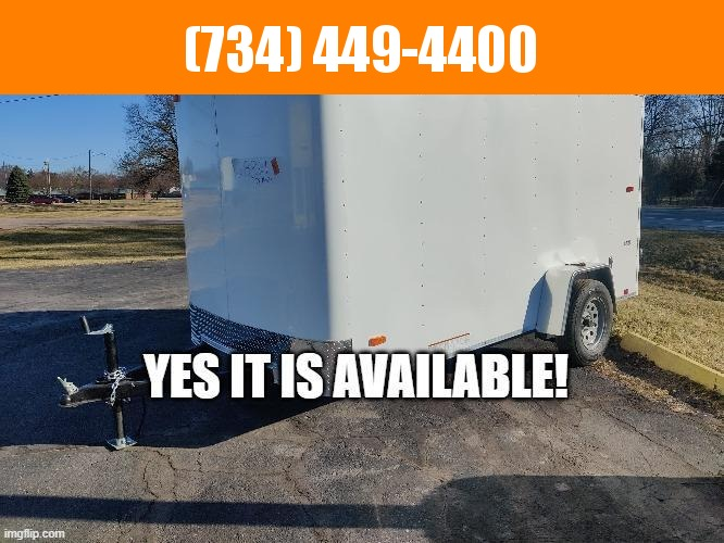 2022 Look Trailers 6X12 Enclosed Cargo Trailer