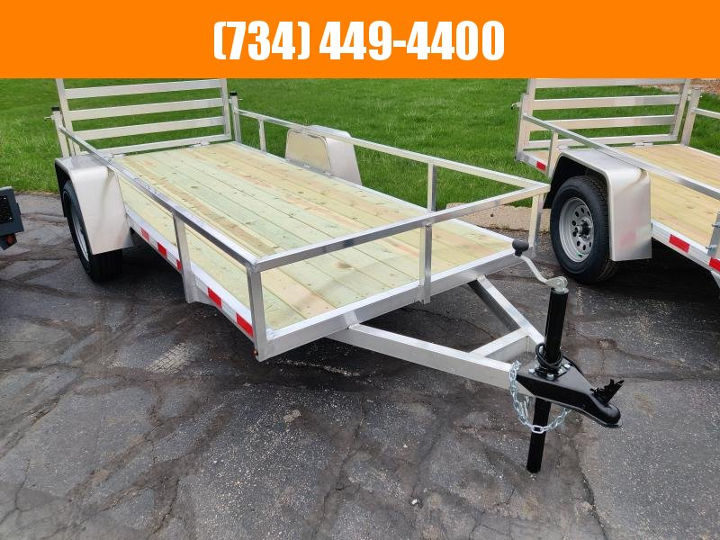 2022 Mid America 5x12 Ultra Light Aluminum Utility Trailer